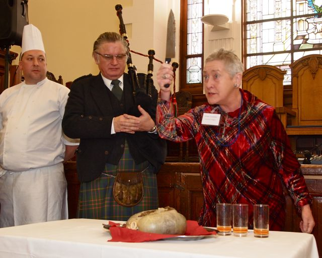 Annual Burns Lunch: Alison Tait